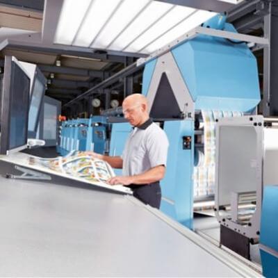 力士乐令印刷过程可靠、经济、灵活